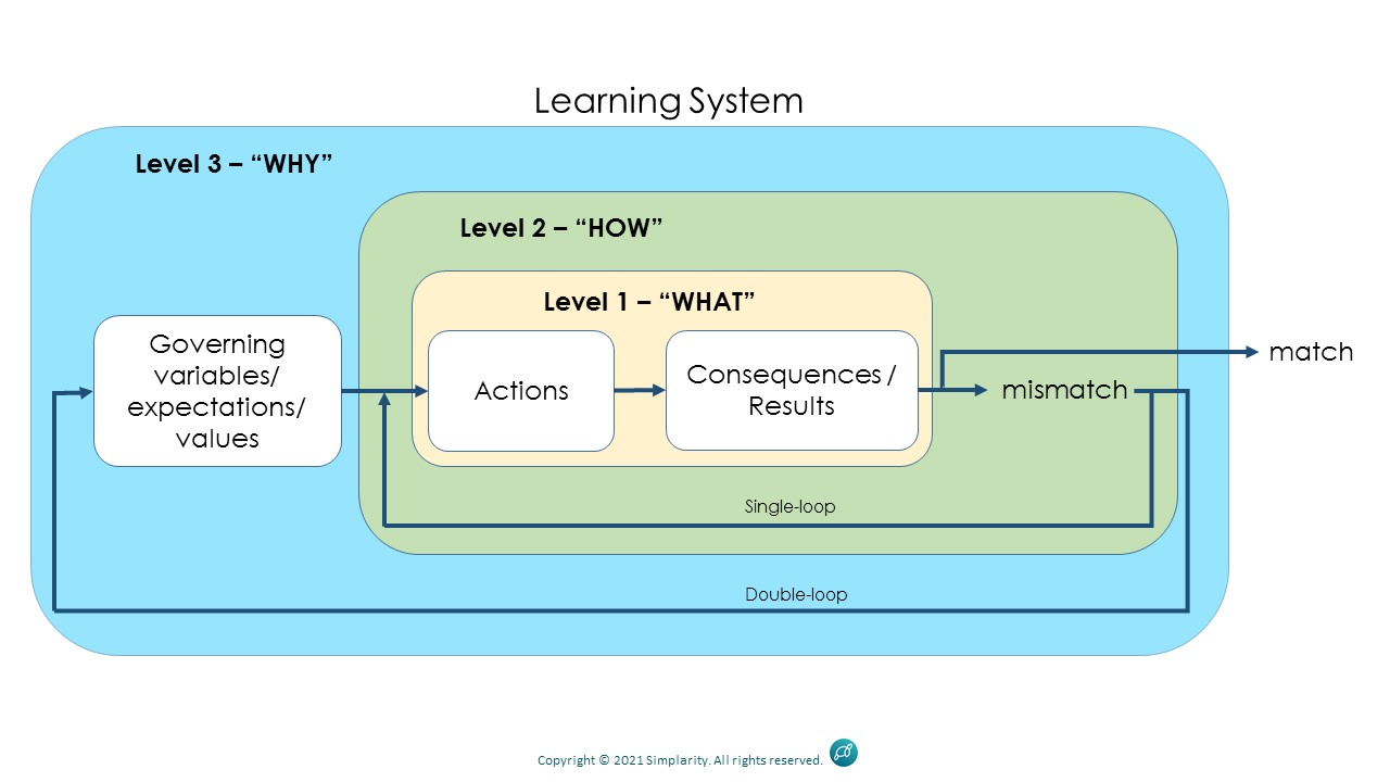 3 Levels of Learning System